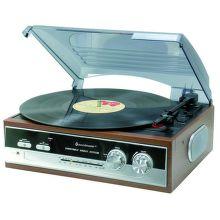 Soundmaster PL186H - gramofon s tunerem