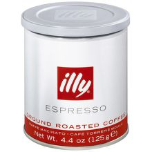 Illy Espresso mletá káva (125g)