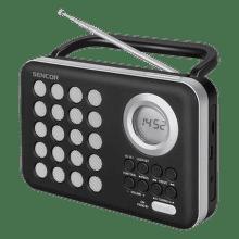 Sencor SRD 220 BS (černo-stříbrné)