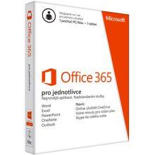 Microsoft Office 365 pro jednotlivce - předplatné 1 rok