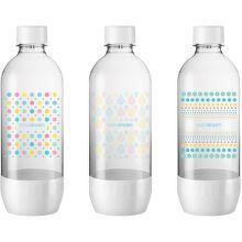 Sodastream Jet Pastel Tripack náhradní fľaša (1l/3ks)