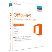 Microsoft Office 365 pro domácnosti - 5 uživatelů