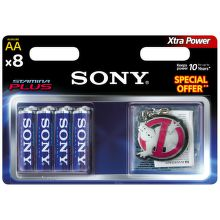 Sony AM3-B8D Stamina Plus AA (LR6), 8ks