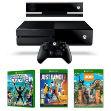 Xbox One 500GB Kinect + Zoo Tycoon, Kinect Sports Rivals a Just Dance 2017