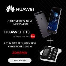 Dárek k předobjednávce Huawei P10