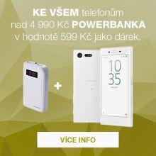 Powerbanka zdarma k chytrým telefonům!