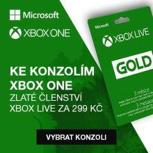 K Xbox One S zlaté členství za 299 Kč