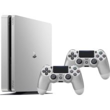 Sony PlayStation 4 SLIM 500GB stříbrná