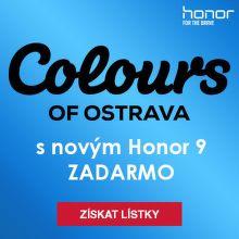 Jeď na Colours of Ostrava s novým Honor 9