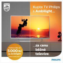 Cashback až 5 000 Kč na TV Philips