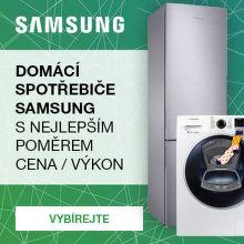 Inovativní domácí spotřebiče Samsung