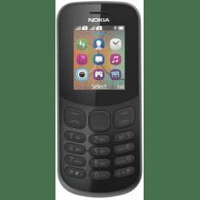 Nokia 130 2017 Dual SIM černý