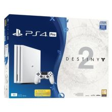Sony PlayStation 4 Pro 1TB bílý + Destiny 2 + PS Plus 14 dní + Thats You