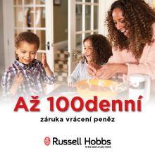 Až 100 denní záruka vrácení peněz na Russell Hobbs