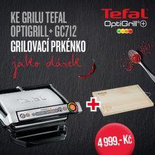 Dárek ke grilu Tefal Optigrill+