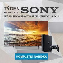 Sony týden: slevy na vybrané produkty!