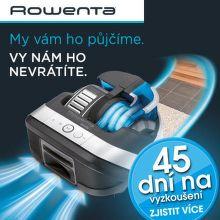 45 dní záruka vrácení peněz na robotické vysavače Rowenta