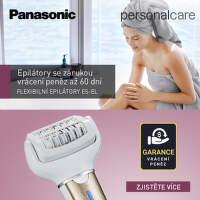 Záruka vrácení peněz na epilátory Panasonic