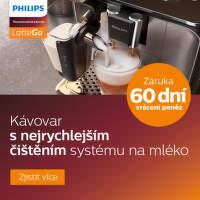 60 dní záruka vrácení peněz na Philips automatické kávovary