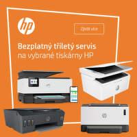 3letá záruka na vybrané tiskárny HP