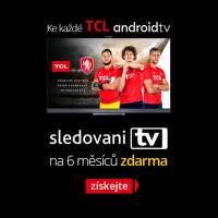 SledovaniTV s televizory TCL na 6 měsíců jako dárek