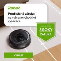 Jeden rok záruky navíc na robotické vysavače iRobot