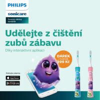 Dárek k dětskému zubnímu kartáčku Philips