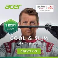3 roky záruka na notebooky Acer Swift Series