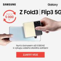 Čas na nový Samsung - Z Fold3 / Flip3 5G