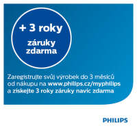 +3 roky záruky zdarma na zastřihovače vlasů Philips