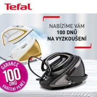 Garance 100 dnů vrácení peněz na parní generátory Tefal
