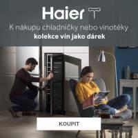 Kolekce vín k vinotékám a chladničkám Haier
