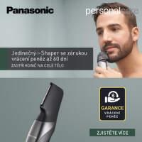 Záruka vrácení peněz na zastřihovače Panasonic i-Shaper
