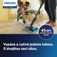 Záruka vrácení peněz 45 dní na tyčové vysavače Philips