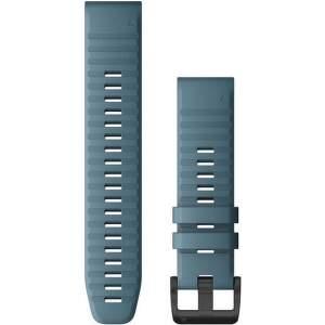 Garmin Quickfit 22 mm silikonový řemínek pro Fénix 6, modrá