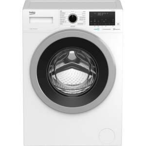 Beko WUE6636CSX0A, bílá smart pračka plněná zepředu