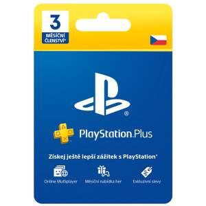 PlayStation Plus - členství na 3 měsíce