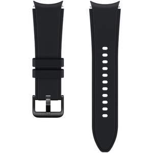 Samsung sportovní řemínek s rýhováním S/M pro Galaxy Watch4 Classic 42 mm černá