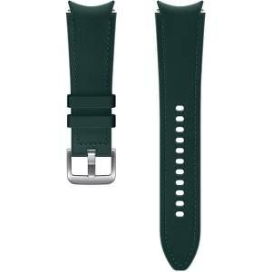 Samsung hybridní kožený řemínek pro Galaxy Watch4 Classic 46 mm M/L zelený