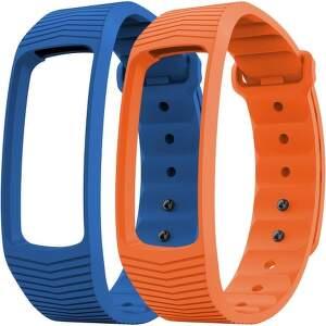 Evolveo FitBand B3 řemínek, modrý+oranžový