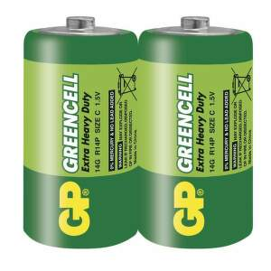 GP Greencell 14G - R14 (C), 2 ks