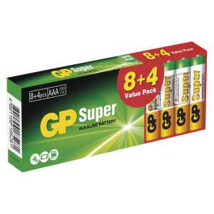 GP SUPER LR6 8+4PB