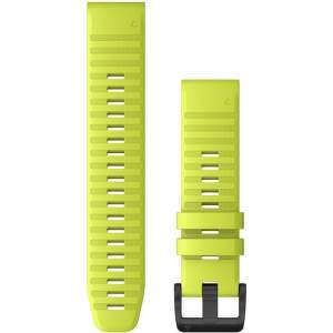 Garmin Quickfit 22 mm silikonový řemínek pro Fénix 6, žlutá