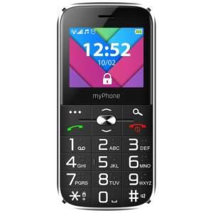 MyPhone Halo C Senior čierny