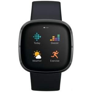 Fitbit Sense smart hodinky čierna