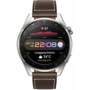 Huawei Watch 3 Pro hnedé