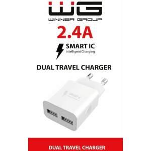 Winner USB-A/USB-A 2,4 A bílá