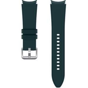 Samsung sportovní řemínek s rýhováním M/L pro Galaxy Watch4 Classic 46 mm zelený