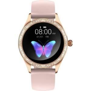 Armodd Candywatch Crystal 2 zlaté s ružovým remienkom