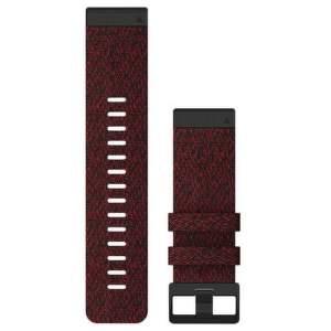 Garmin QuickFit 26mm nylonový řemínek pro Fénix 6X, červená